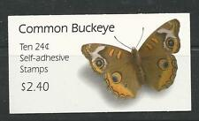 BK301 Common Buckeye 24c #4001a Vending Booklet Unopened