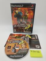 Time Crisis 3 (Sony PlayStation 2, PS2) Complete with Manual, No Scratches!