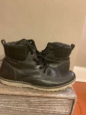 Call It Spring Faux Fur Grey Casual Boots Men's Size 13