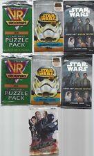 Collectors Lot 7 Sealed Card Packs  6 Star Wars One GI Joe