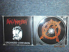 Fatal aggressione-organized confusion (US PRIVATE PRESS. 1998, thrash metal)