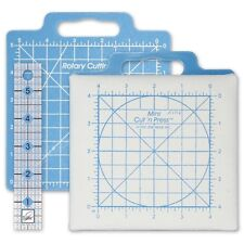 """Mini Cut 'n Press with 1 x 6"""" Ruler, from June Tailor JT-1716"""