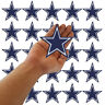 """Wholesale Dallas Cowboys Football Size 3.0""""x3.0""""  Sew Iron on Embroidered Patch"""