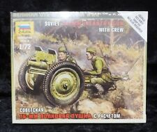 Zvezda 6145 Soviet 76mm Infantry Gun 1/72 Scale Model Kit
