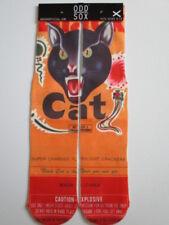 odd sox BLACK CAT FIREWORKS buy any 3 pairs GET 4th PAIR FREE novelty skater