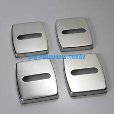 PM Anti-rust Steel Door Lock Cover Cap Trim Body Kit for BMW E60 E61 E90 E91 E93
