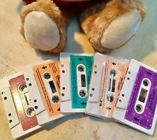 LOT 5 Worlds of Wonder Teddy Ruxpin Cassette Tapes