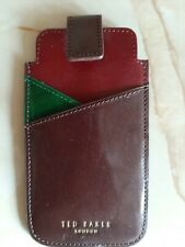 Ted Baker Leather Card Holder And Wallet