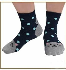 Iconic Cute Polkadots Cat Socks