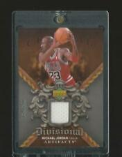 2007-08 UD Artifacts Divisional Michael Jordan Bulls Game Used Jersey Patch Rare