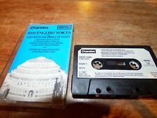 1981 CASSETTE 1000 ENGLISH VOICES / MASSED ENGLISH MALE CHOIRS- AS NEW