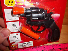 Detective Special Die cast metal Cap Gun Revolver Toy, with silencer, fun toy!