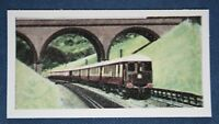 THE BRIGHTON BELLE   British Rail Southern Region Express  Vintage Card # CAT A