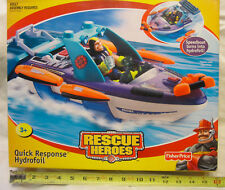 Rescue Heroes - Quick Response Speedboat Turns Into Hydrofoil