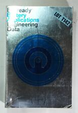Everyready Battery Applications Engineering Data Handbook 1971 Paperback T142