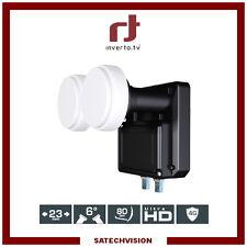 LNB Monoblock Twin 6° Inverto Black Pro 0.2 dB Gain 65 dB Full HD 3D Ultra HD