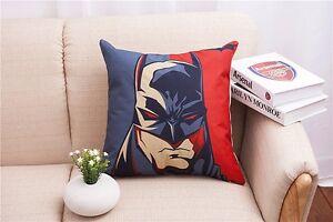 Lovely Cotton Linen The Avengers Throw Pillow Case Cushion Cover Home sofa Decor