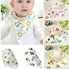 Baby Girls Boy Kids Saliva Towel Bandana Bibs Infant Dribble Triangle Head Scarf