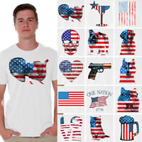 Usa flag shirt American flag t shirt 4th of July Independence Day tshirt men