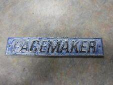 """Metal """"Pacemaker"""" Hull Badge"""