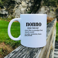 Nonno Noun Mug Nonno Mug Nonno Gift Gifts For Nonno Coffee Mug