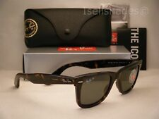 Ray Ban ORIGINAL WAYFARER (RB2140-902/58 50) Tortoise with Green Polar Lens