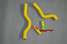 For Suzuki RM250 RM 250 2001-2008 Silicone Radiator Hose yellow