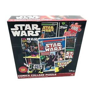 Star Wars 1000-Pieces-Comics Collage Puzzle, NEW