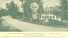 Barnet, VT The Old Homestead, The House by the Side of the Road,Mrs.L.E.Spafford