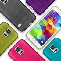 Silicone Bumper Case Samsung Galaxy S5 Neo Thin Ultra Slim Shockproof Back Cover
