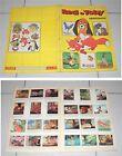 Album RED E TOBY NEMICIAMICI Walt Disney Panini 1981 COMPLETO Figurine