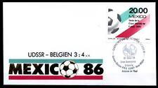 Fußball. WM-1986, Mexiko. SoSt. UdSSR-Belgien 15.06.86. Mexiko 1986