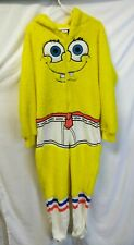 Spongebob Men Medium Warm fleece Costume 1 Piece Top Funny Halloween Party