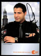 Serhat Cokgezen Notruf Hafenkante Autogrammkarte Original Signiert ## BC 34049
