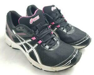 Asics Women's Q473N GEL Quickwalk 2 Athletic Shoes Size US 8.5,  Black & Pink