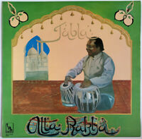 ALLA RAKHA TABLA LP LIBERTY UK MONO 1969 EX CONDITION PRO CLEANED