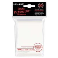 50 Ultra Pro White Standard Deck Protector Card Sleeves Pokemon MTG ULP82668
