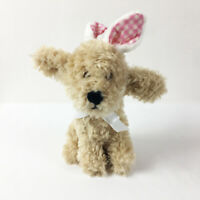 """TB7 Pier 1 Imports Easter Bunny Golden Doodle Dog Plush 9"""" Stuffed Toy Lovey"""