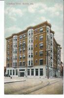 CB-050 AL, Mobile, Cawthon Hotel, Divided Back Postcard Old Car Exterior View