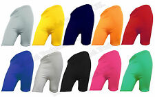WOMENS CYCLING YOGA SHORTS LADIES CYCLE SHORTS IN ASSORTED COLOURS (8-24)