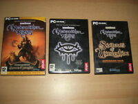 NEVERWINTER NIGHTS 1 NWN GOLD EDITION Inc SHADOWS OF UNDRENTIDE Add-On  Pc Cd