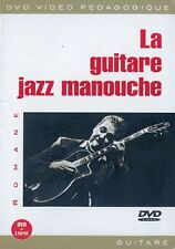 Romane la Rock Jazz Manouche Guitarra Aprende A Tocar Música Musique Dvd Francés