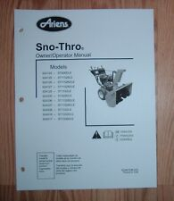 ARIENS 924517 - ST1336DLE SNO -THRO OWNERS MANUAL