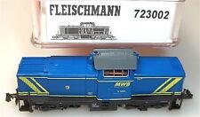 Locomotora Diésel V 12 Der Mwb Mittelweserbahn Fleischmann 723002 Nuevo 1:160
