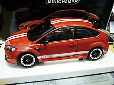 FORD Focus rs500 RS 500 2010 le MANS CLASSIC ROSSO RED MKIV tributo Minichamps 1:18