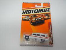 Matchbox Emergency Response '63 Cadillac Ambulance #56