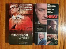 (Lot2) Holocroft Covenant Caine 85 Heist Hackman Devito 2001 VHS RARE HTF OOP