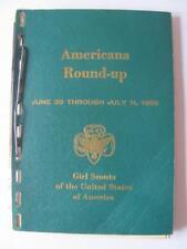 Scarce/Rare 1956 (1st Ever) Girl Scout Senior Roundup Catholic Leaflet Missile
