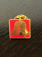 National Mental Health Association Bell Lapel Pin Pinback Hat Pin Metal Red