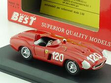 Best 9047 ferrari 750 monza Targa Florio 55 #120 1:43 coche modelo OVP 1412-24-12